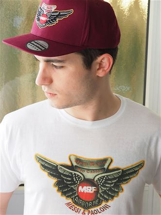T-shirt Messi & Paoloni winged logo